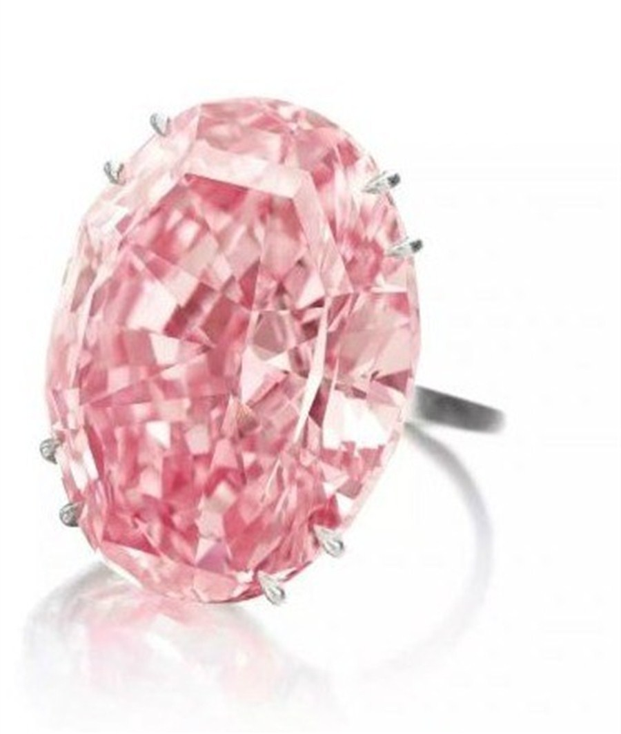 59.60-carat pink diamond to be auctioned in Hong Kong