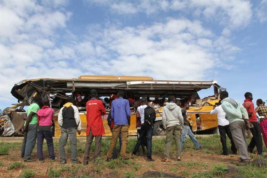 26 killed in Kenyan bus collision