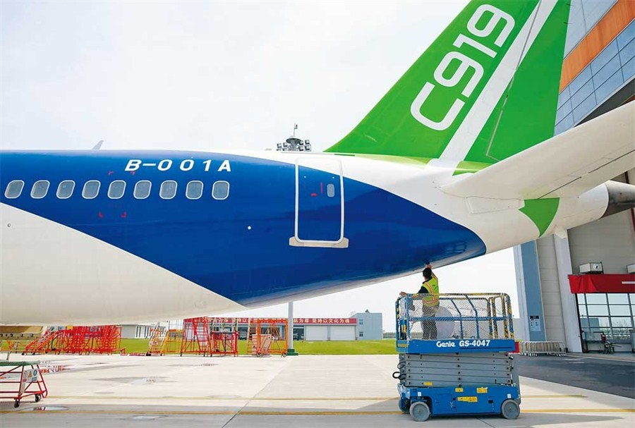 China's passenger jet set for takeoff