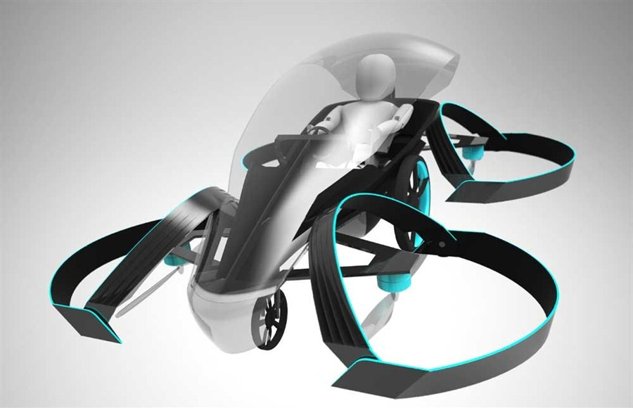 Toyota aims high with flying car project