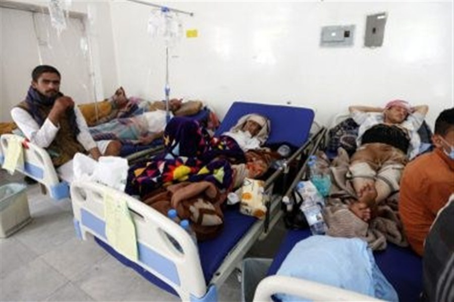 Cholera outbreak in war-torn Yemen
