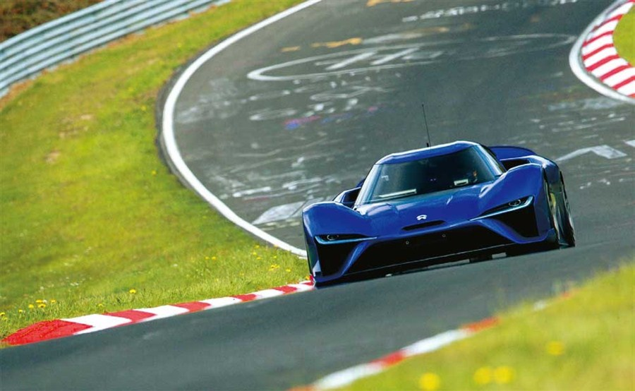 NIO aims to add some zoom to electric vehicles