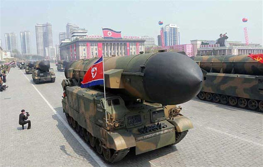 NK missile launch 'dashes peace hopes'