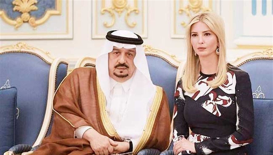 Saudi, UAE pledge US$100 mln to Ivanka Trump womens' fund