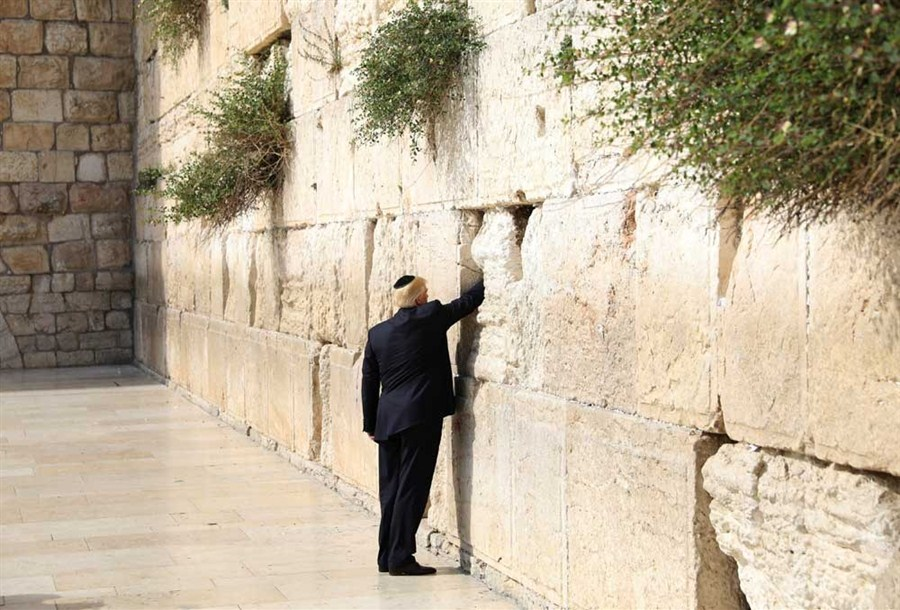 Controversy and politics as Trump arrives in Jerusalem and Tel Aviv