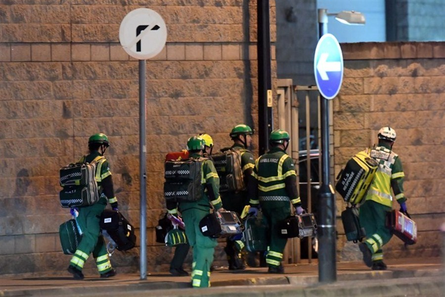 22 killed in terror blast at UK pop concert