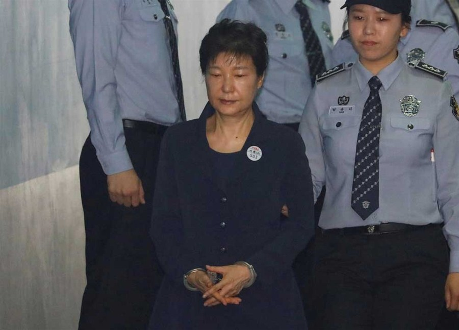 Ex-SK president Park accused of abusing power to receive bribes