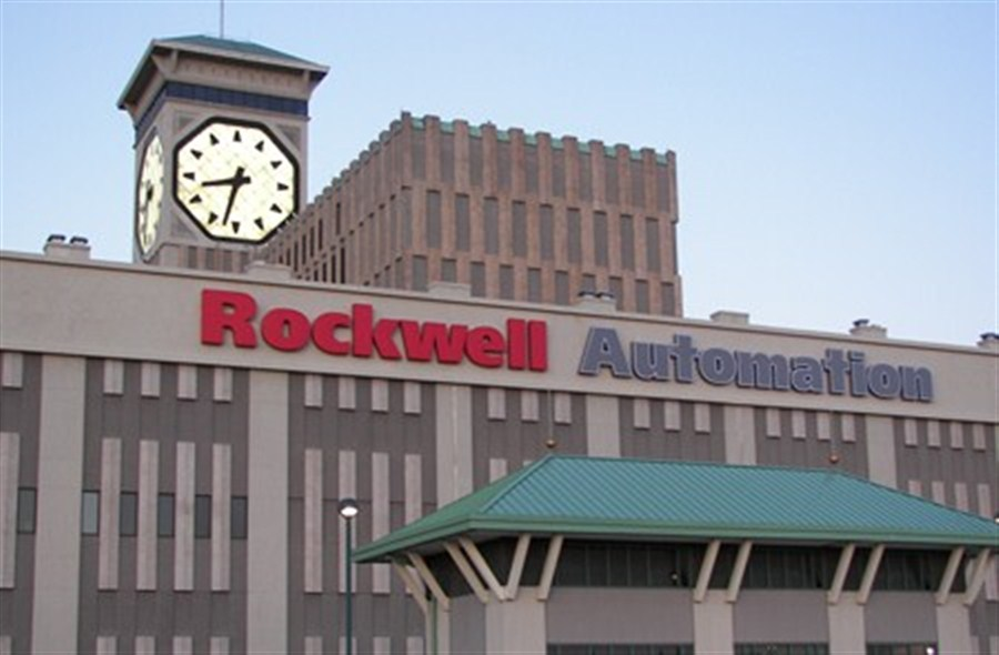 Rockwell posts strong sales gain