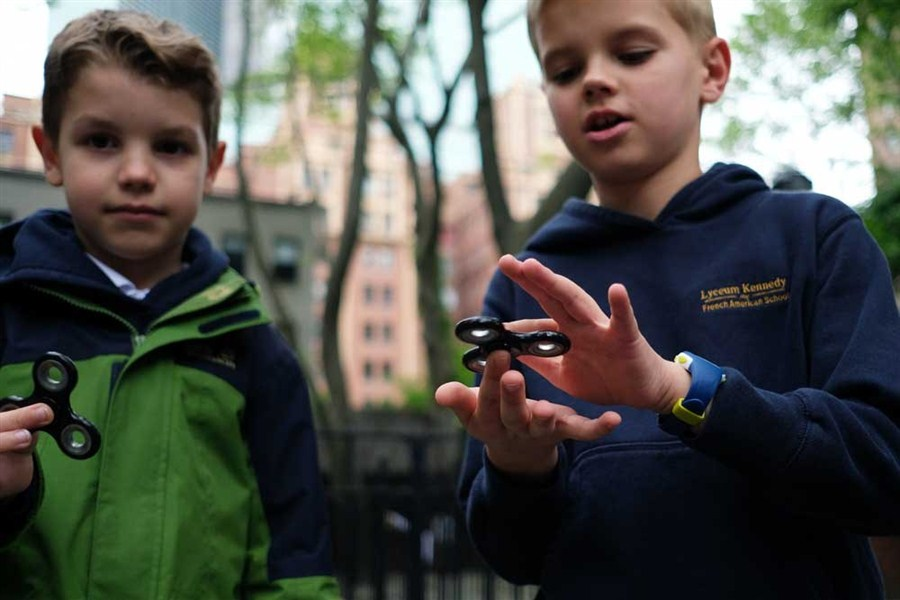 'Fidget spinner' has US, European teachers in a spin as tempers fray
