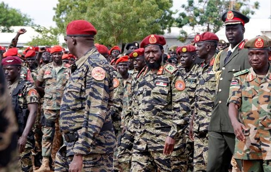S. Sudan soldiers tried for rape, murder
