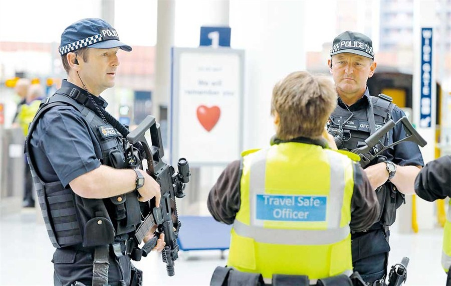 Station reopens after bomb blast