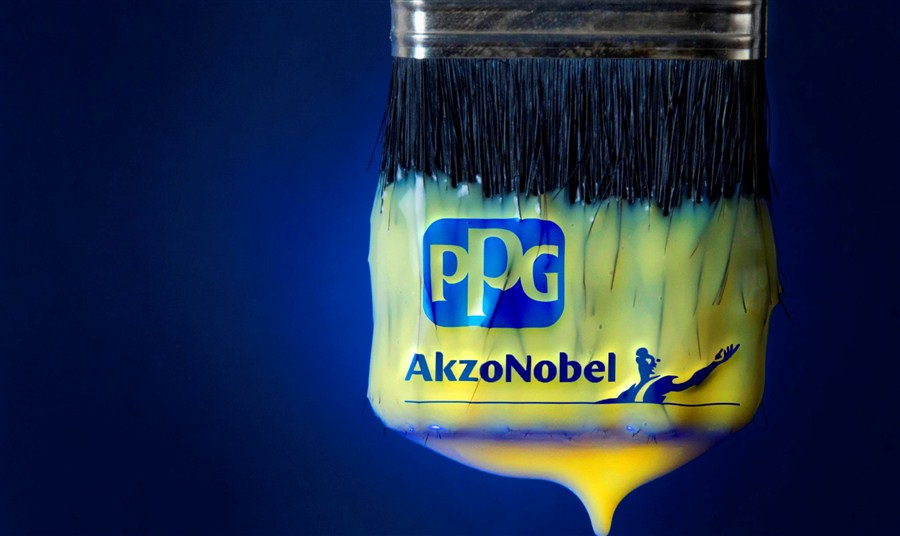 PPG scrubs attempt to buy AkzoNobel