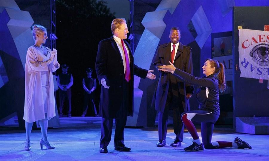 US sponsors ditch Trump-style 'Julius Caesar' in NY