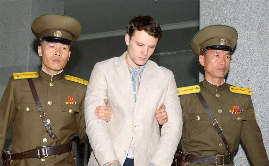 Jailed US student released by North Korea