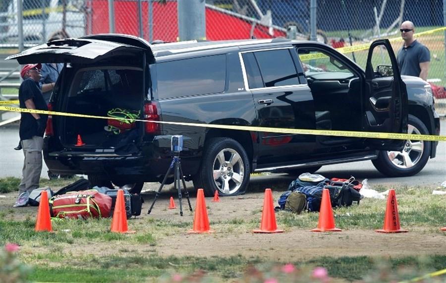 Anti-Trump gunman attacks US lawmakers, dies in shootout