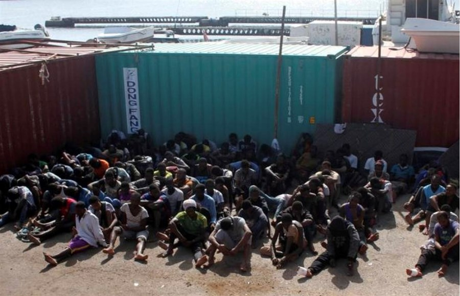 Libya smugglers broadcast abuse of African migrants on social media to demand ransoms