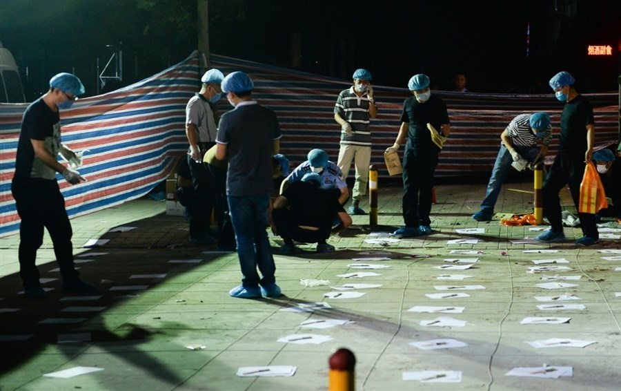 Suspect in east China blast among dead: police