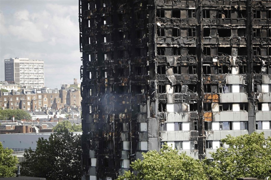 Cladding danger for 600 towers in England