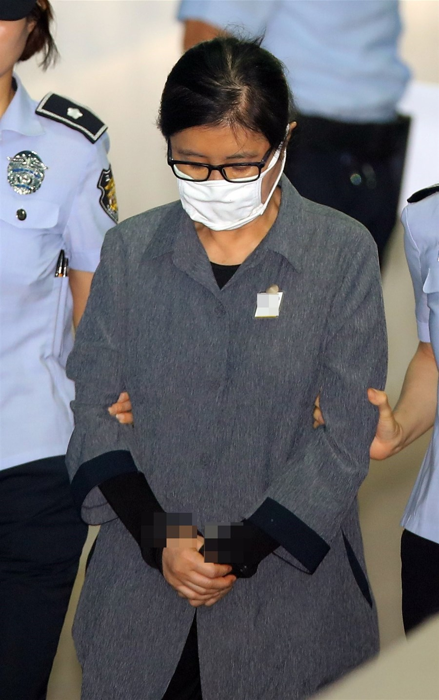 S. Korean ex-president's confidante gets 3-year prison over corruption scandal