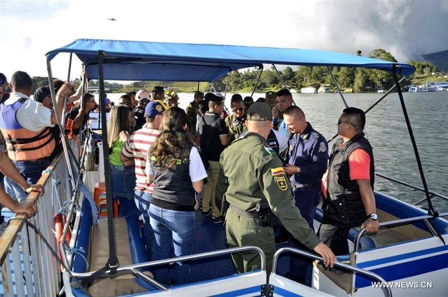 3 dead, 30 missing after boat sinks in Colombian reservoir