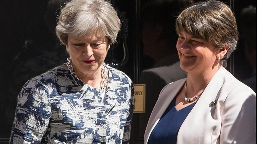 UK deal struck for DUP to back May's agenda