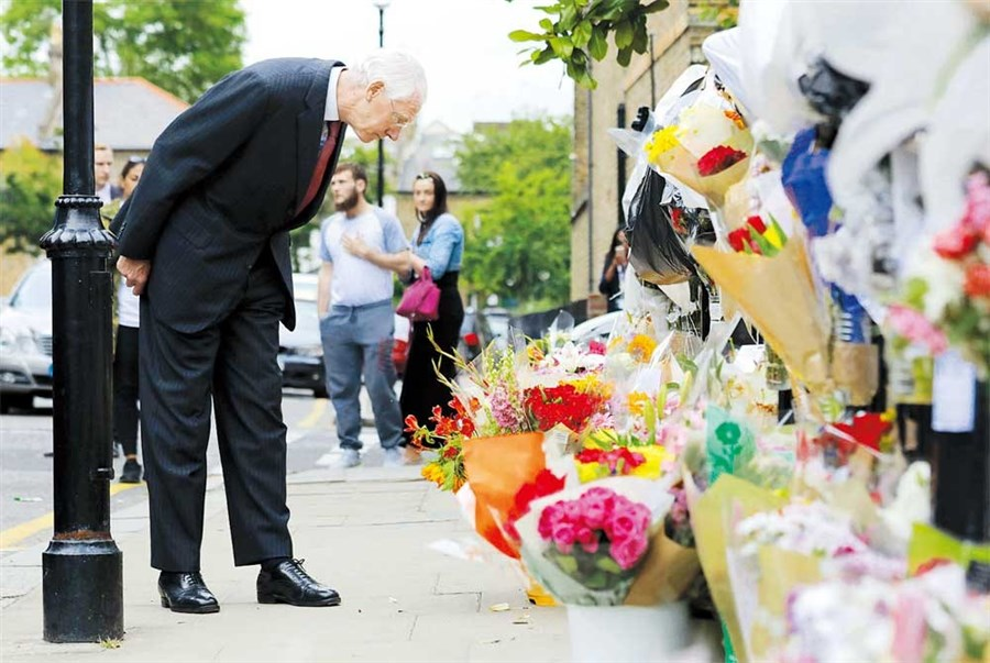 'No stone unturned' May says of fire inquiry