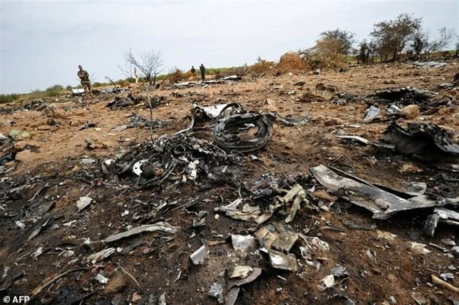 French point to Spanish over plane crash