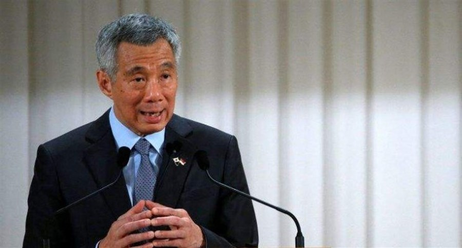 Singapore's PM raises family feud in parliament
