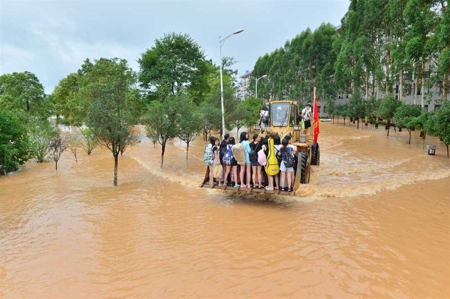 At least 42 killed as torrential rain sweeps central and south China