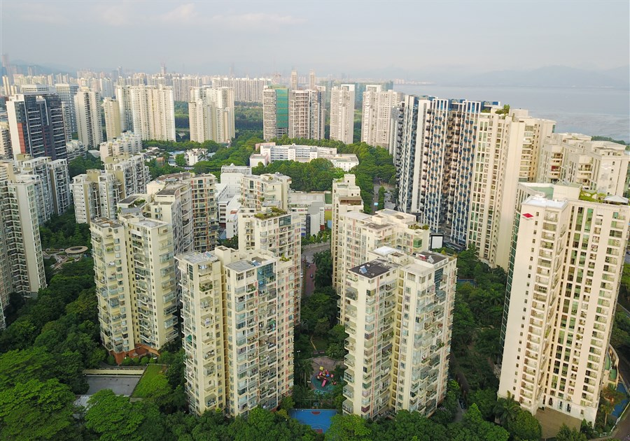 China's top property developers extend leadership in H1