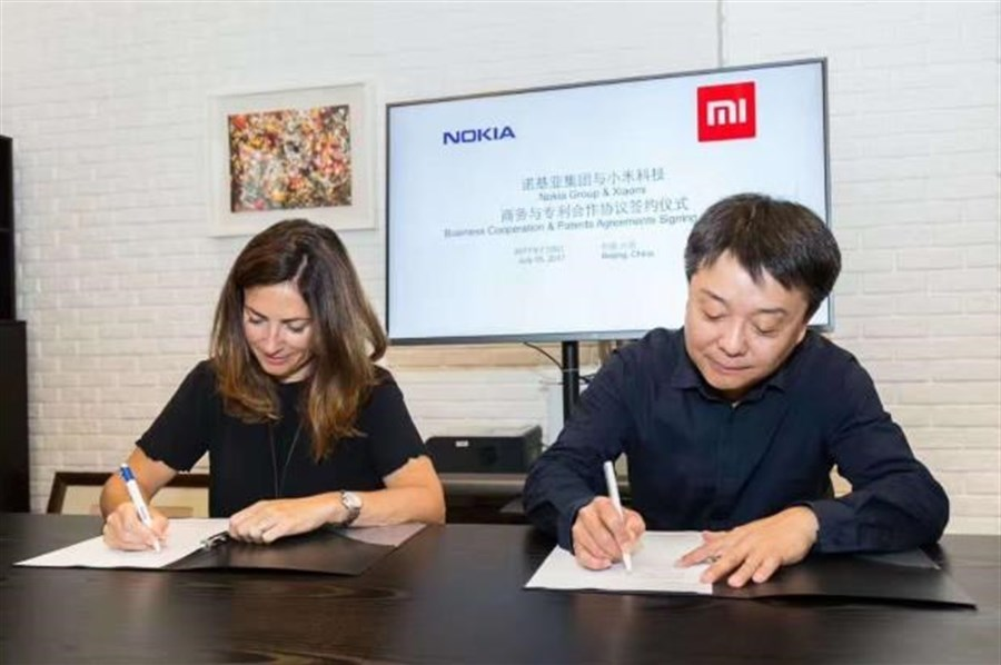 Nokia, Xiaomi sign patents-sharing deal