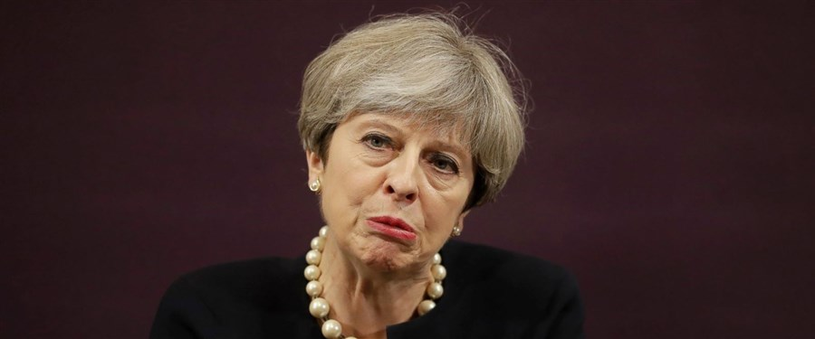 Weakened UK leader Theresa May vows to win 'battle of ideas'