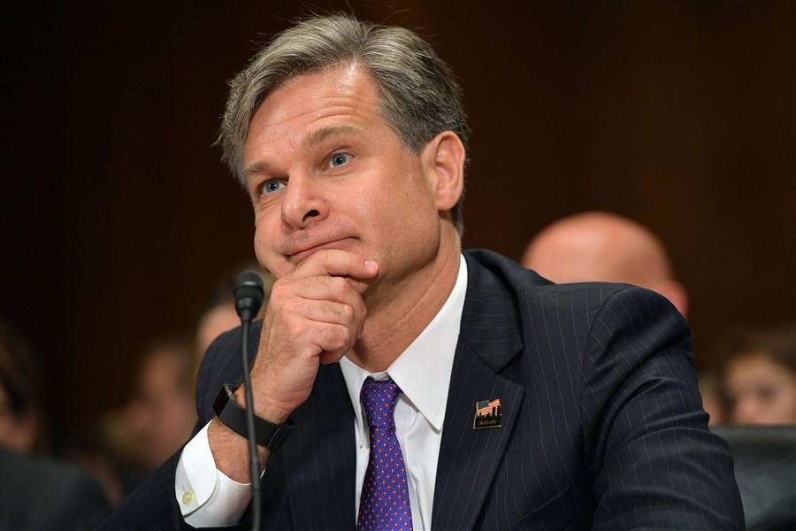 Trump's FBI nominee Wray pledges independence