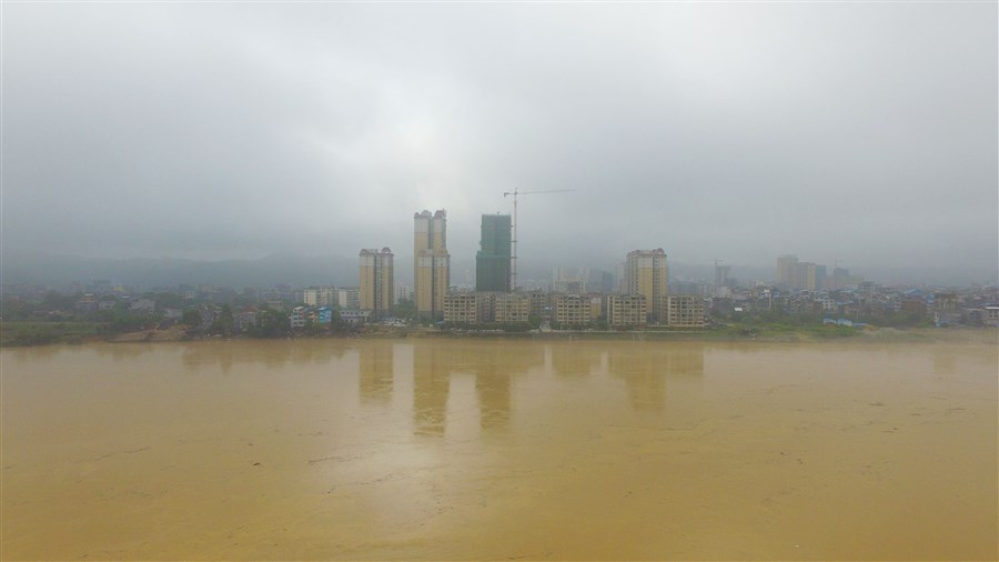 Flooding in Guangxi affects 80,000 people