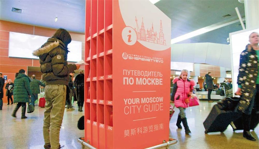 Tourists revel in new destinations