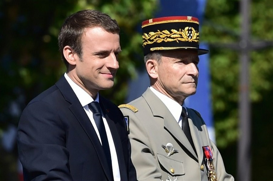 Macron rebuke forces military chief to resign