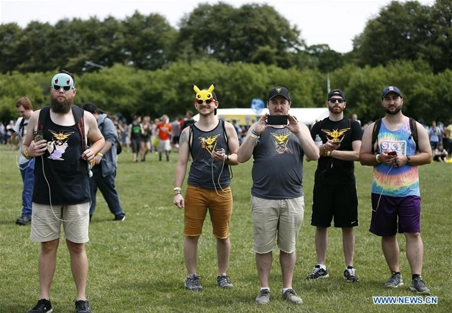 Pokemon Go Fest held to mark one-year anniversary of launch in Chicago