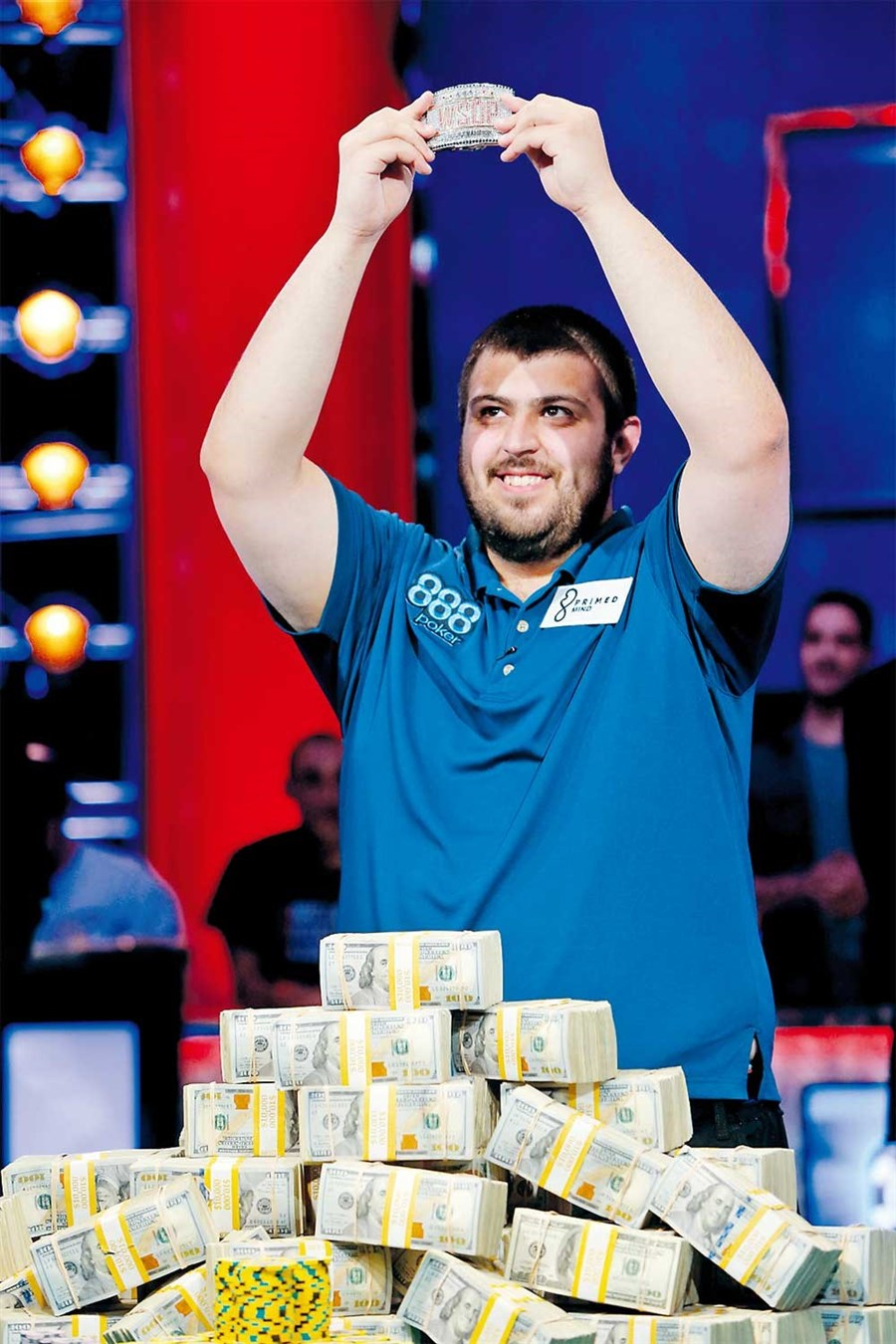 American wins US$8.1m in poker contest