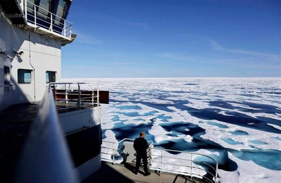 The Arctic is unforgiving; riding in this icebreaker isn't