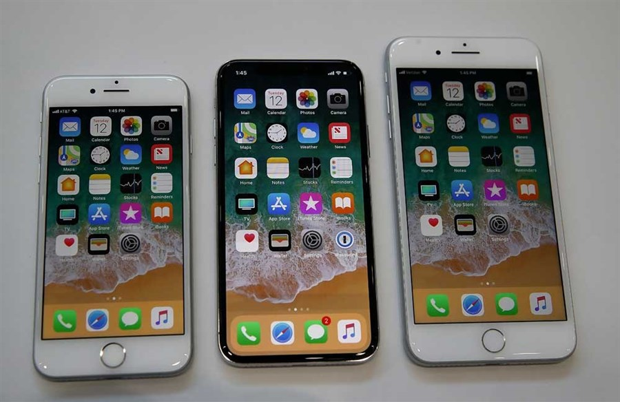 Apple unveils iPhone X as 'future of smartphone'