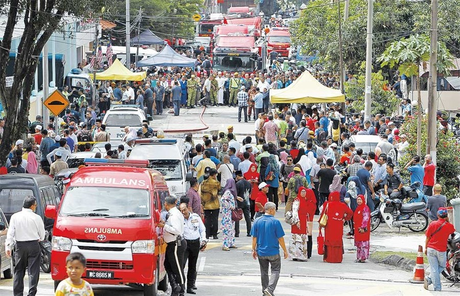 Blaze at Malaysian religious school kills 23, mostly children