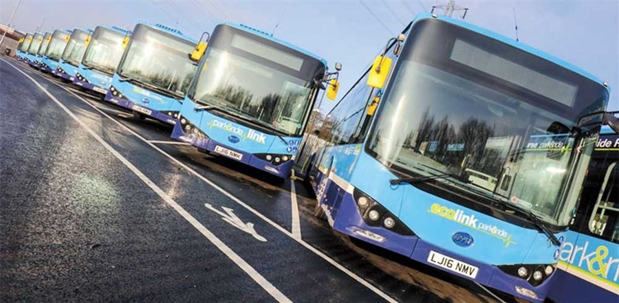 Made-in-China buses popularized on quality