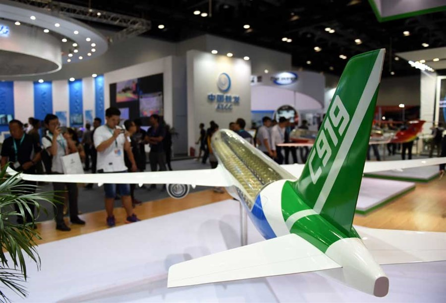 COMAC wins 130 orders for C919 jet