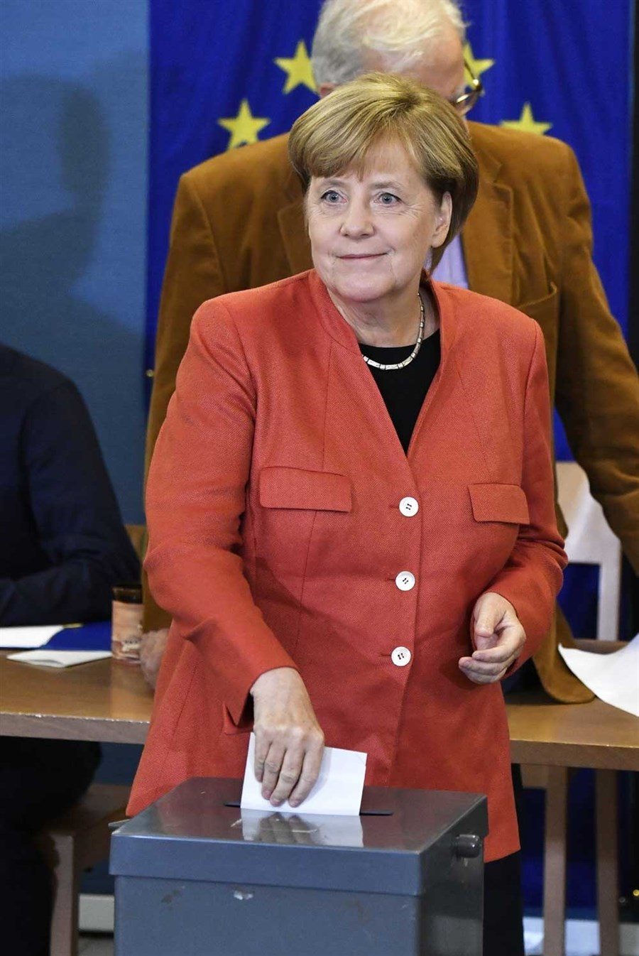 Exit polls put Merkel on course for 4th term