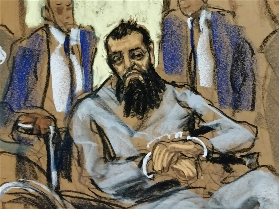 Truck rampage suspect charged with terrorism