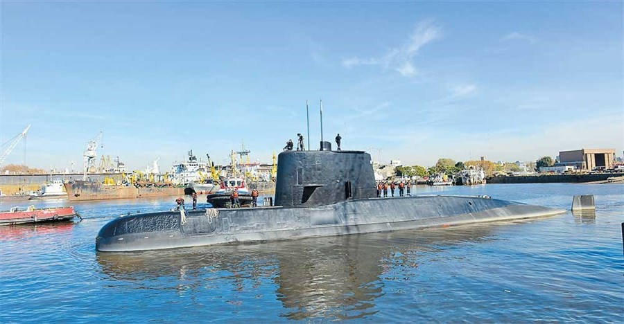 Countries help to search south Atlantic for Argentine submarine