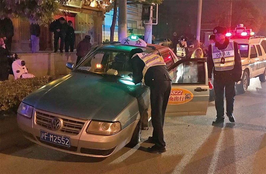 Crackdown on illegal taxis