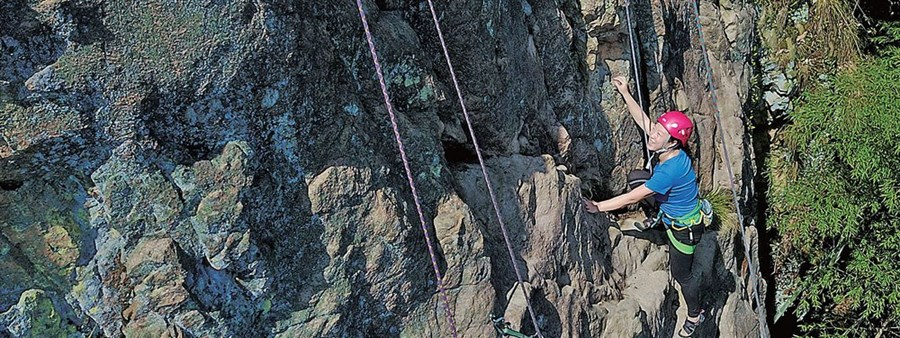 Truth or Not? Women getting hooked on rock climbing