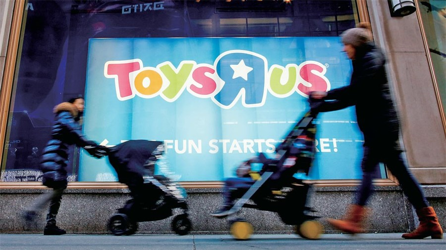 Hard impact expected to be felt from bankruptcy of Toys R Us