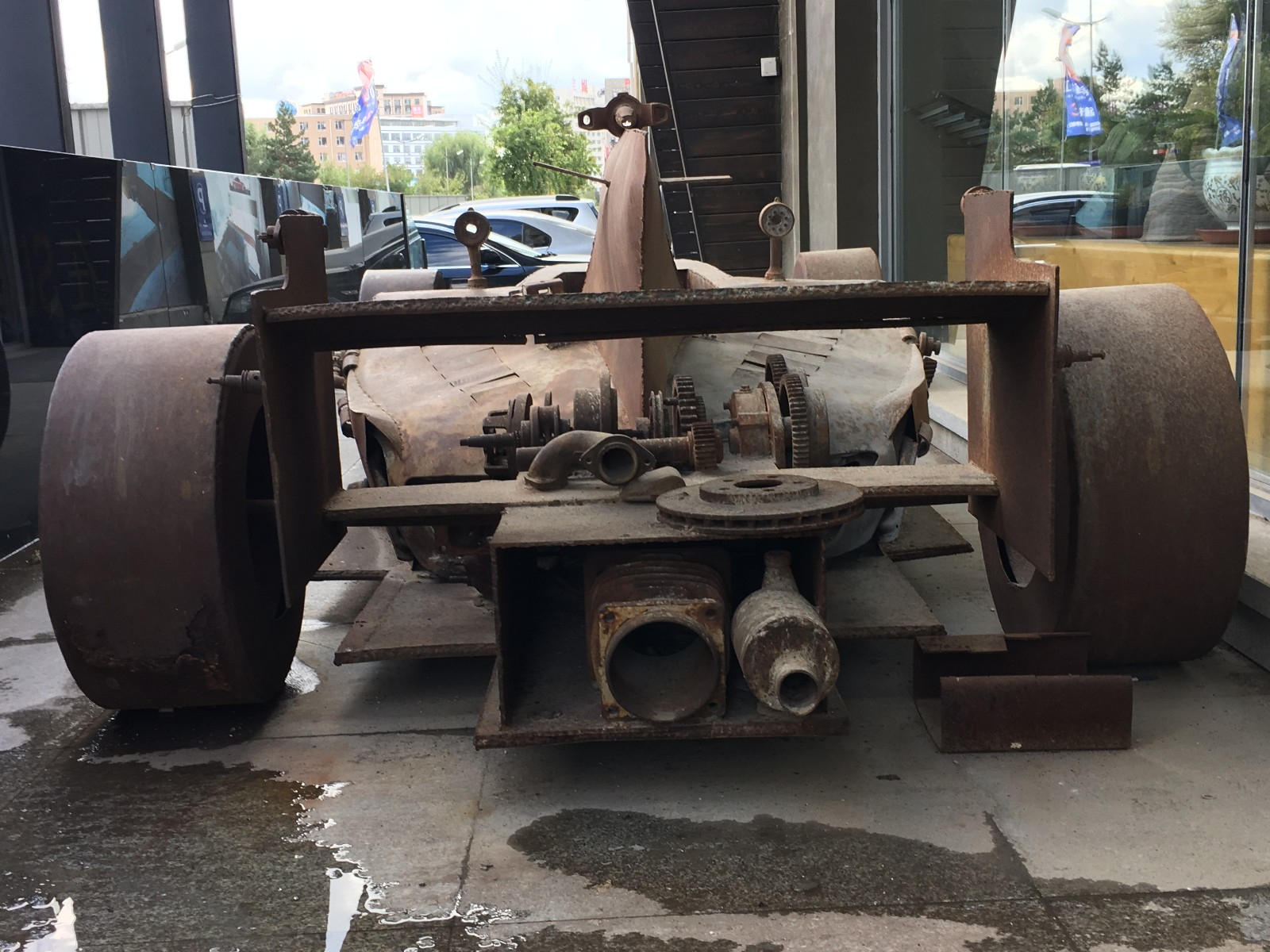 How to scrap car with no log book - The Owner Surnamed Wang Said The Car Was Built Out Of Scrap Iron He Collected From The Recycle Station